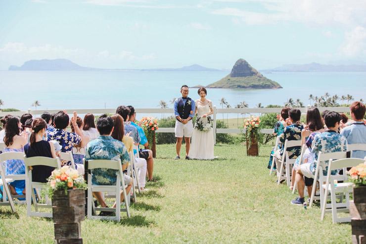 2人の希望が現実に!大自然で叶えるハワイ挙式に密着