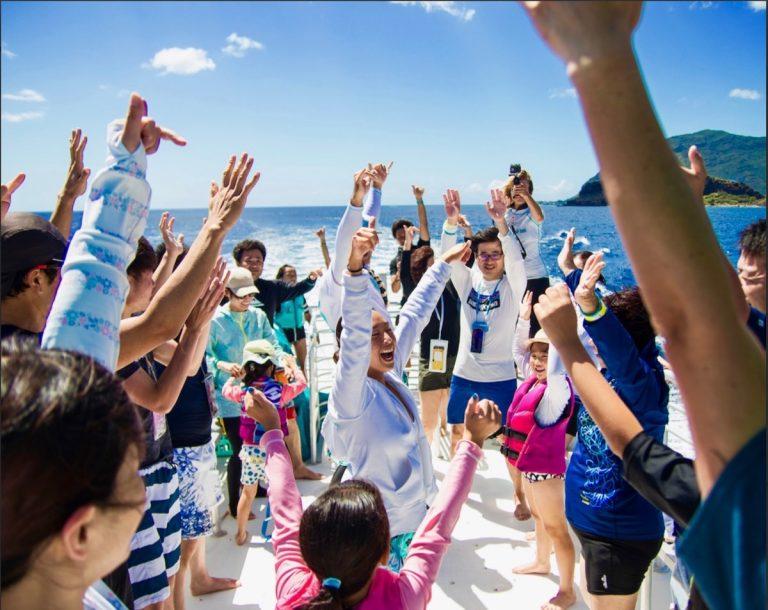 ハワイで一番の思い出!と言ってもらえるのがクルーたちの喜び