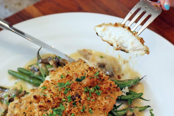 メリマンズの魚料理