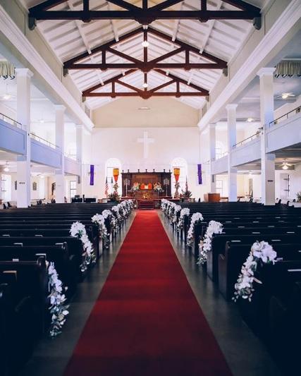 オアフ島最古の由緒正しき教会!