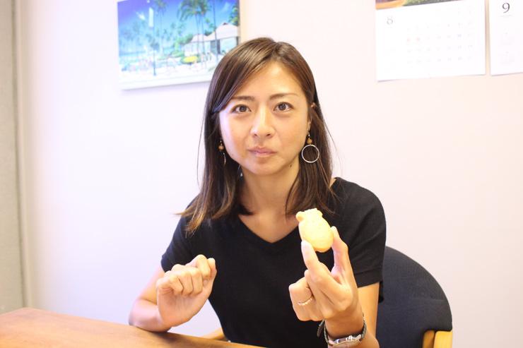 ミカコ:「バター・マカダミア」はシンプルだけど、この王道の味が美味しいです。