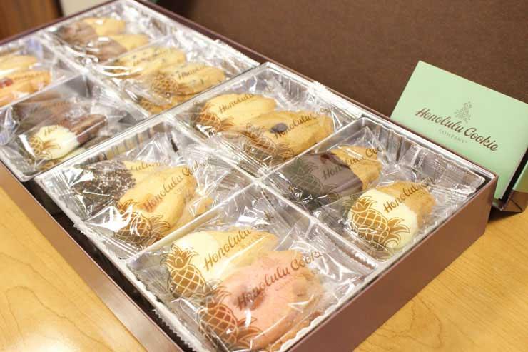 ハワイで人気のパイナップル形クッキー全種類食べ比べ