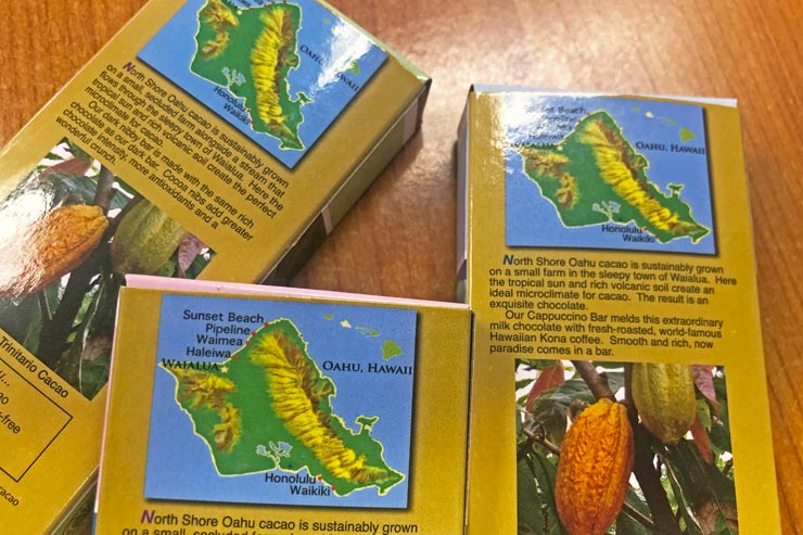 マリエカイ・チョコレートのカカオはハワイ産