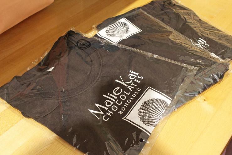 マリエカイ・チョコレートのTシャツ($19.95)