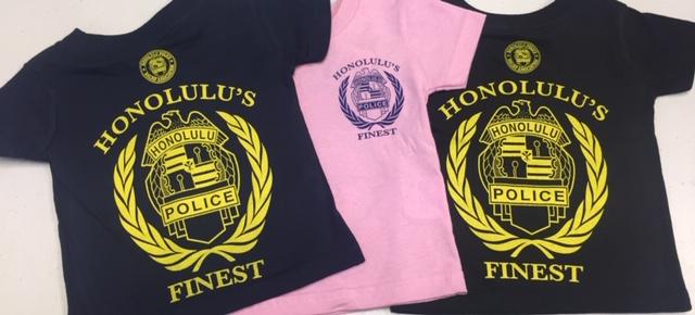 ホノルル・ポリスのバッジTシャツ!