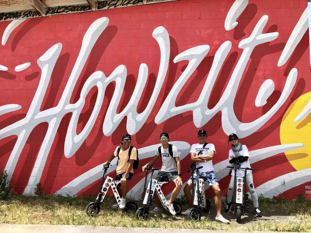 ハワイで最高の思い出をURB-Eで!!