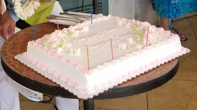 Lサイズ($150相当) のケーキ無料進呈