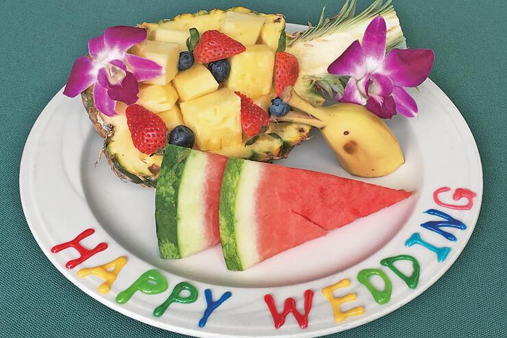 アロハテーブル・ワイキキのケーキ