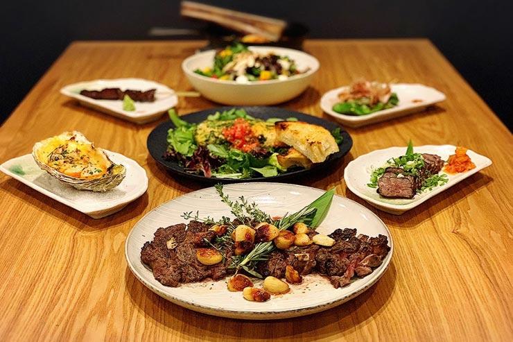 祝1周年!人気の創作和食店が期間限定コースを提供