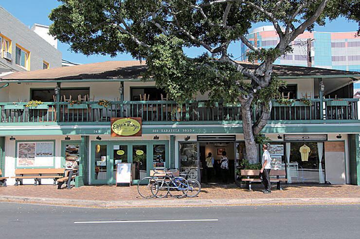 ワイキキ、アラモアナ、コオリナに4店舗ある