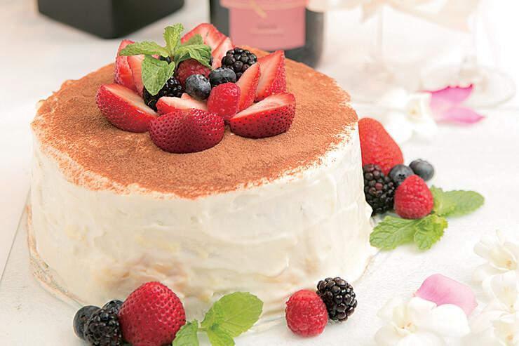 タオルミーナ・シチリアン・キュイジーの自家製ケーキ