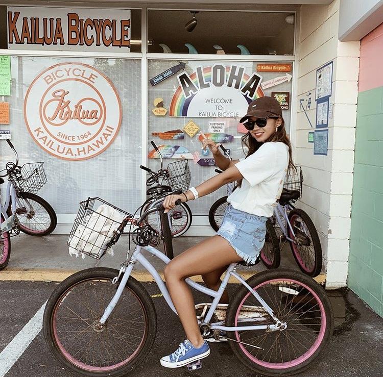 カイルアでレンタル自転車とクーポン
