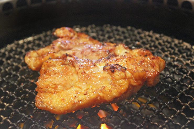 大阪焼肉ホルモンふたごのBコースオーダーで進呈