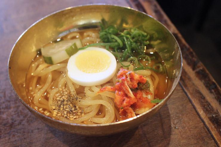 大阪焼肉ホルモンふたごの冷麺