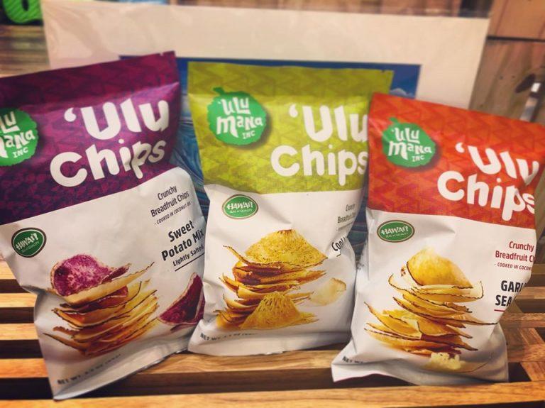 新商品のUluチップス!