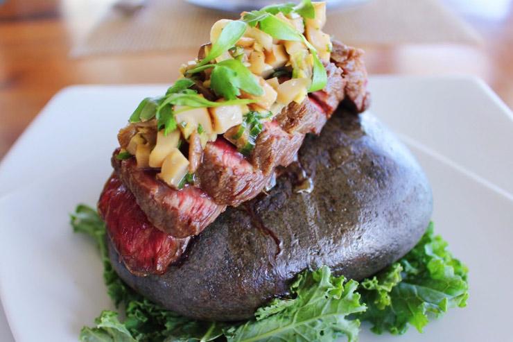 絶景レストランのハワイ食材にこだわった新メニュー