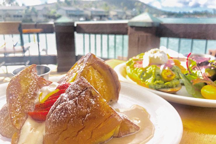 朝から幸せ!海前レストランで至福の朝食タイム