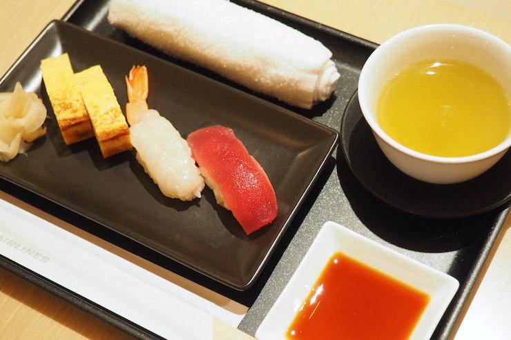 鶴亭の寿司