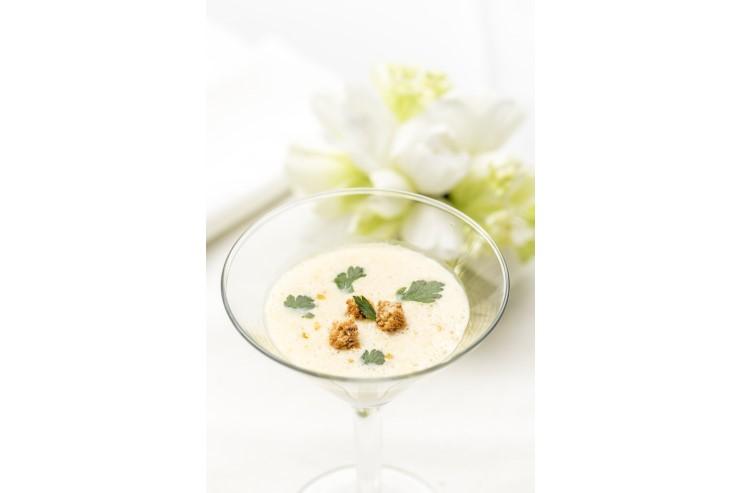 【スープ】 スイートコーンの冷製スープ