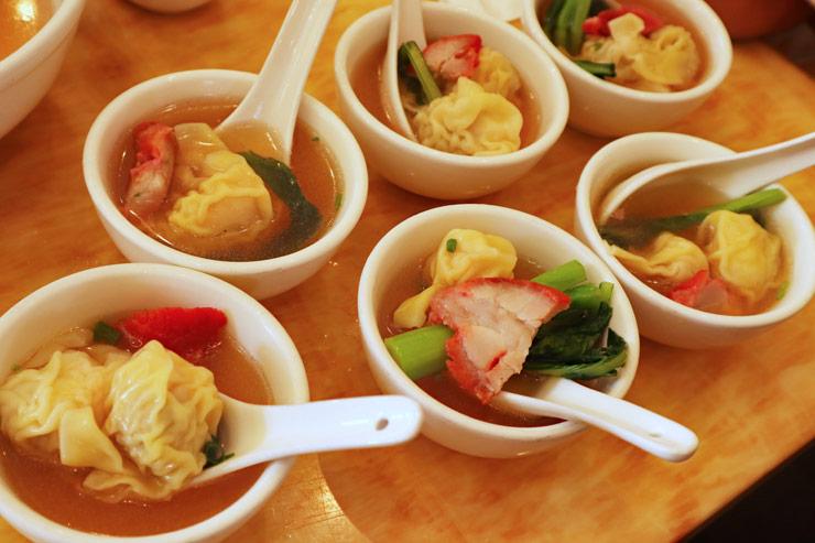 エビのワンタン・スープ
