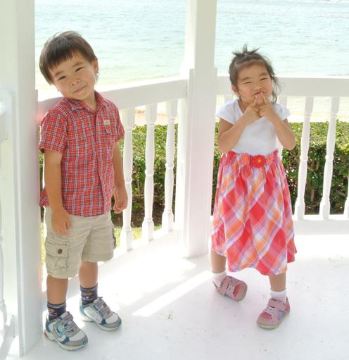 子供のドレスコード(ハワイのレストラン)