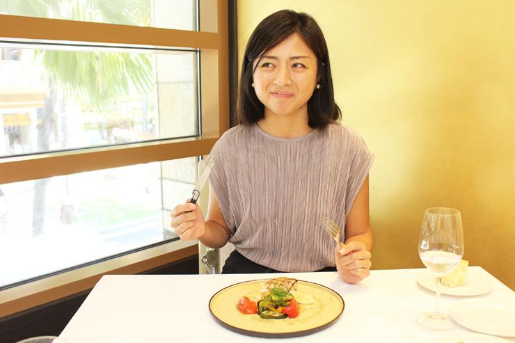 タオルミーナのコース料理に大満足