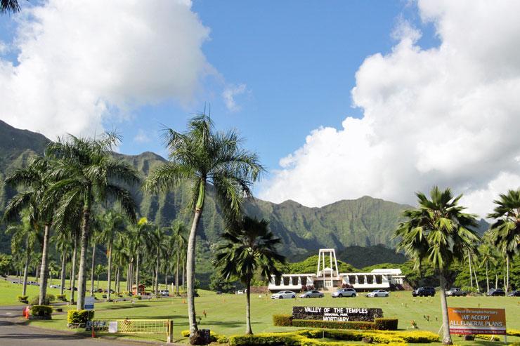 ハワイのお墓 バレー・オブ・ザ・テンプル