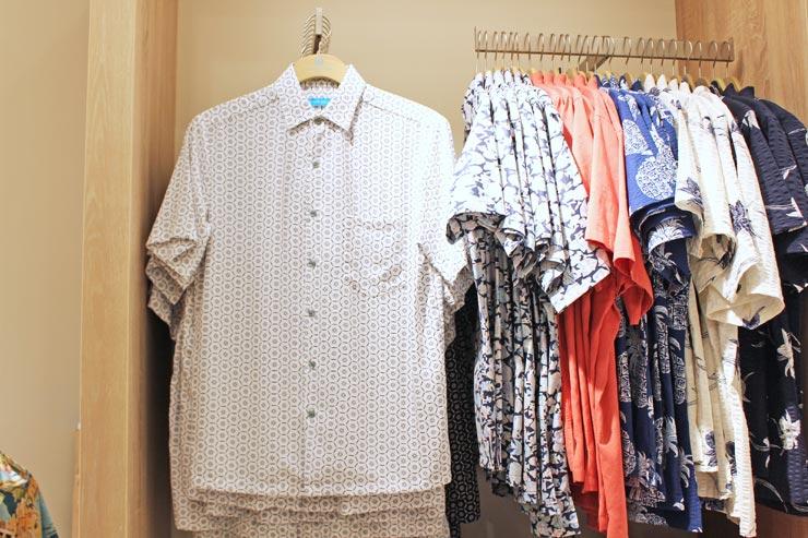 【トリーリチャード】生地にウッドパルプを取り入れたシャツ