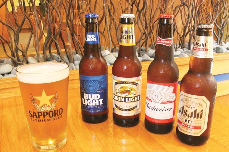 16:00~17:00のハッピーアワーでは、瓶ビール(小)が$1.50、サッポロ生が$2.50に