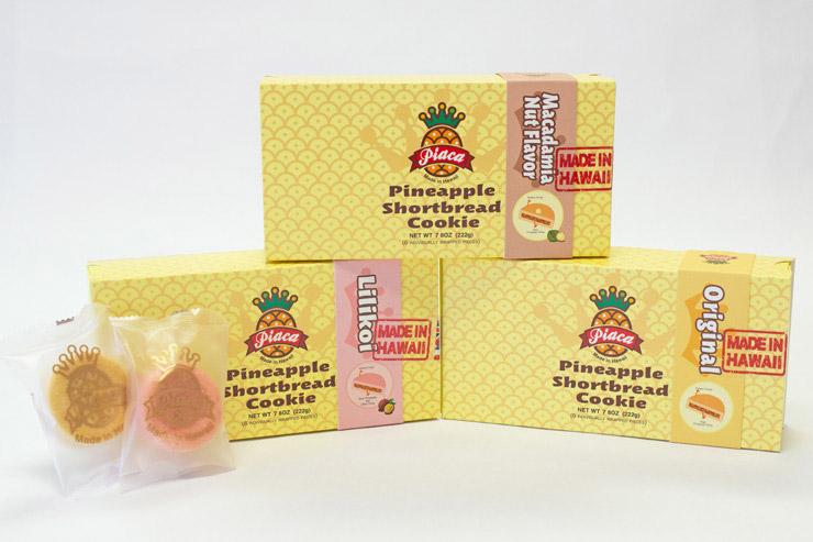 ピアカのパイナップルショートブレッドクッキー