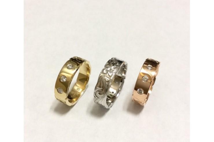 ダイヤモンドが美しく輝く「コアナニ」のジュエリー