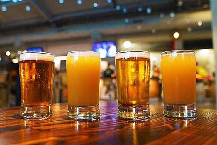 地ビールで乾杯!開放感たっぷりなオシャレブルワリー