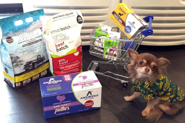 ペットの健康を考えた冷凍フレッシュフードが入荷