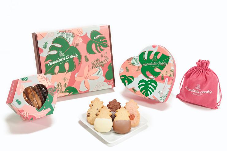 ホノルル・クッキーカンパニーのバレンタイン限定コレクション