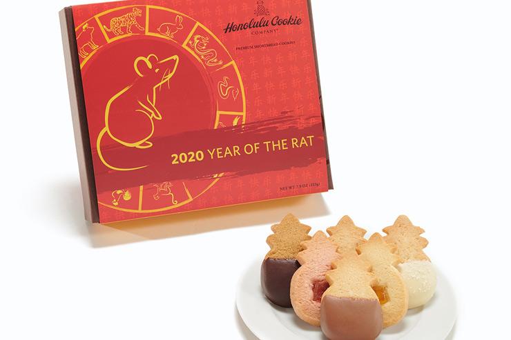 ホノルル・クッキー・カンパニーのニューイヤーギフトボックス