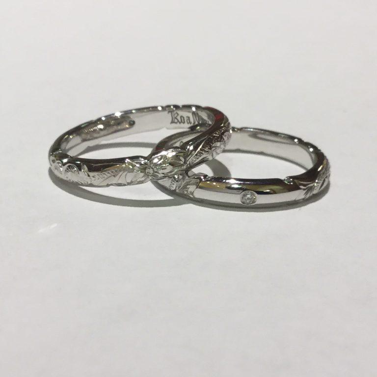 シンプルな中に伝統の深い味わいのリング