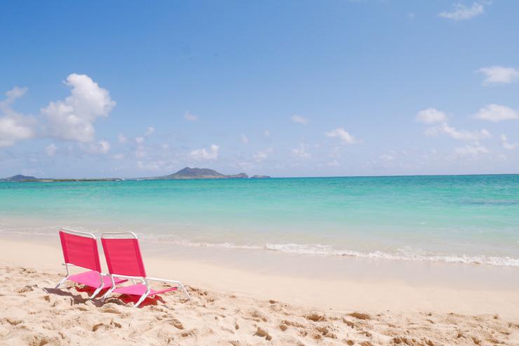 カイルアのおすすめスポット、ラニカイビーチ