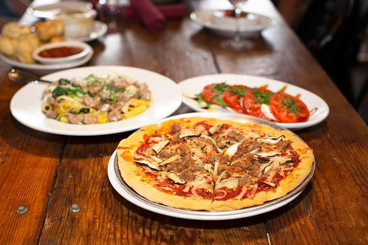 開放感たっぷりでオシャレ!本格イタリアンレストラン