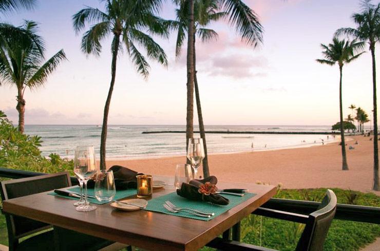 ハワイのバリ・ステーキ&シーフードの内観