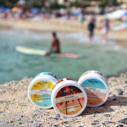 ハワイの香りのハンドクリーム3セット