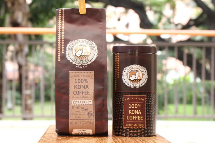 アイランド・ヴィンテージ・コーヒーのコーヒー