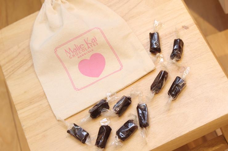 ロイヤル・ハワイアン・センターのマリエカイ・チョコレートのフレンチキャラメル
