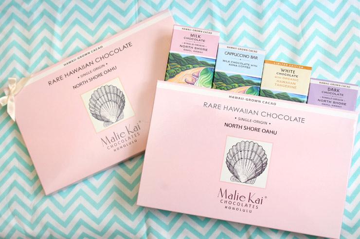 ロイヤル・ハワイアン・センターのマリエカイ・チョコレートのチョコレートバー