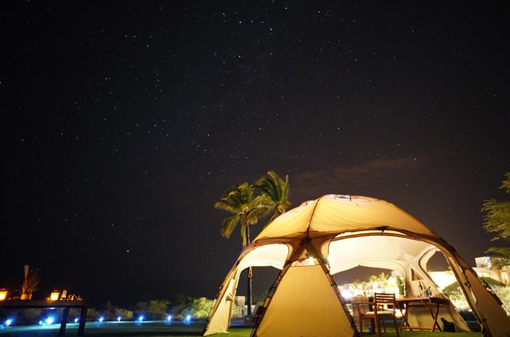 お気軽グランピングでハワイ島の自然を満喫