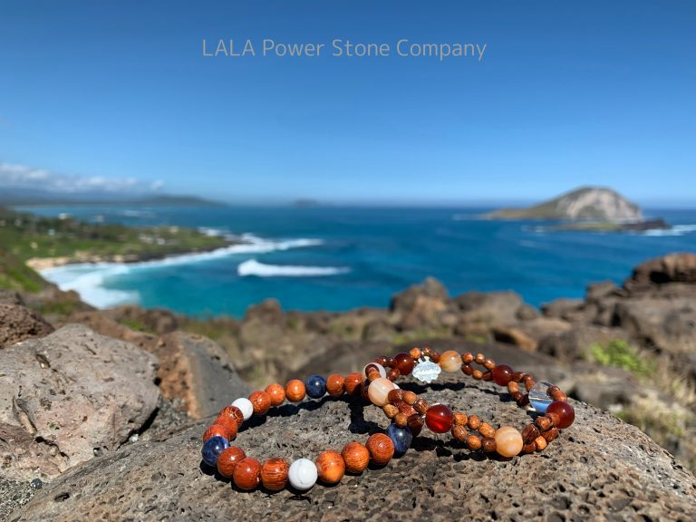 ハワイ産コアウッドのアクセサリー