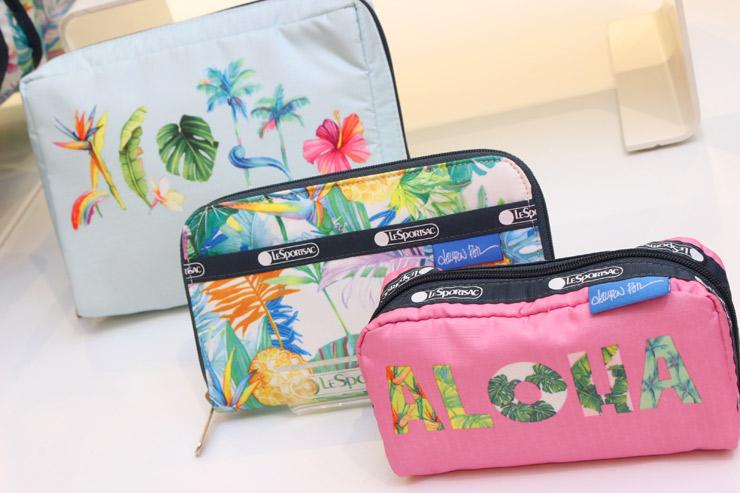 レスポートサックのハワイ限定デザインポーチ、財布