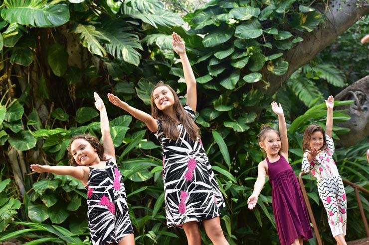 ロイヤル・ハワイアン・センターのケイキフラ
