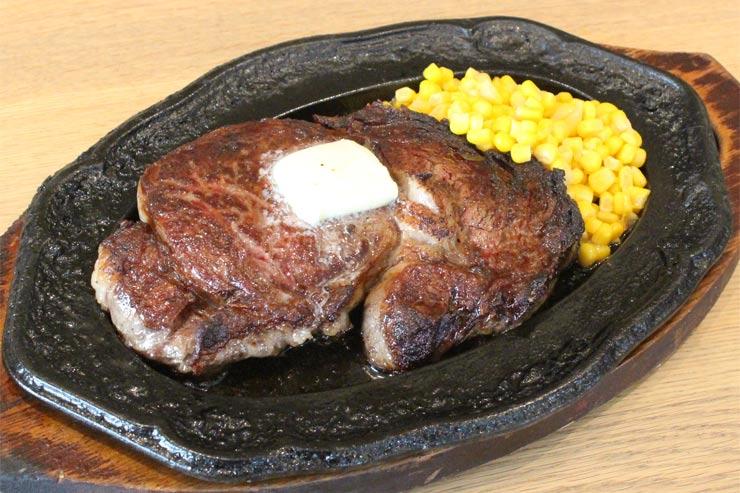 ハワイのアロハステーキハウスのステーキ