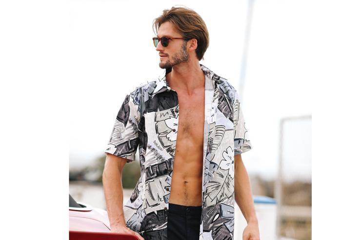 ハワイのジャムズ・ワールドのアロハシャツ