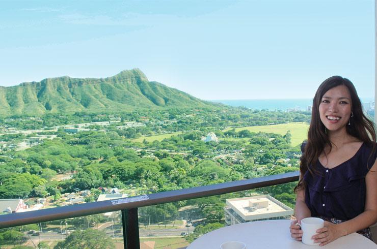 ハワイ-ワイキキ・サンセット